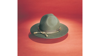 F-40 Campaign Style Felt Uniform Hat