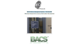 BACS Evidence Management System – The Real ROI