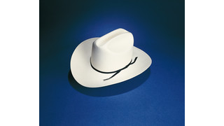 S-36 Western Style Straw Uniform Hat