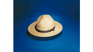 S-40 Campaign Style Straw Uniform Hat