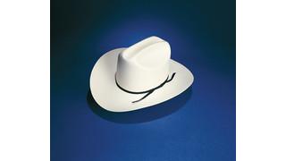 S-36 Western Style Straw Uniform Hat
