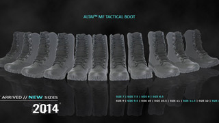 ALTAI Tactical Boots- Expanded Sizes Available