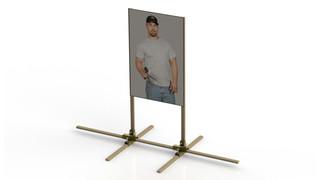 Quik Stand Paper Target Mount