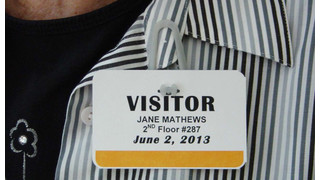 Eco-Friendly Visitor Badges