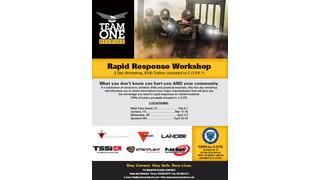 Team One Network Rapid Response Workshop