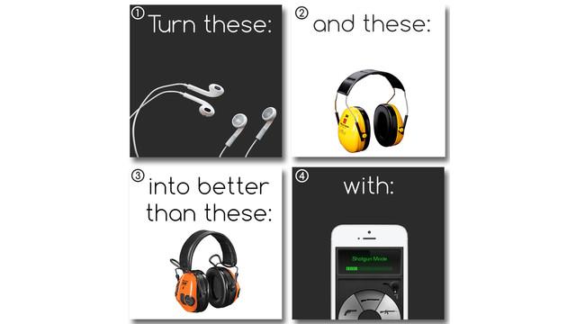 Gunsonics! Hearing Protection App