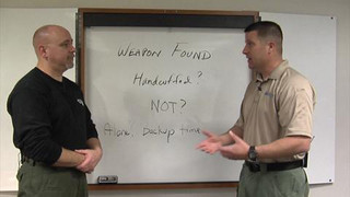 Securing Found Weapons: Defensive Tactics