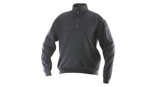 Grid Fleece Zip Thru Job Shirt