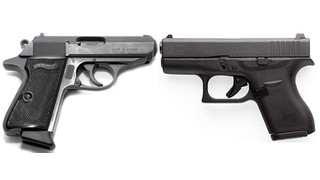 Glock Model 42 vs. Walther PPK
