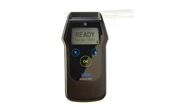 Dräger Alcotest 5510 Breath-Alcohol Analysis Handheld