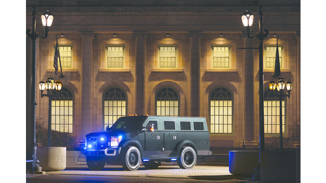 BearCat Tactical SUV Armored Police Vehicle