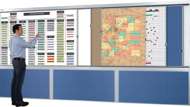 PlanView Multiple Track Cabinets