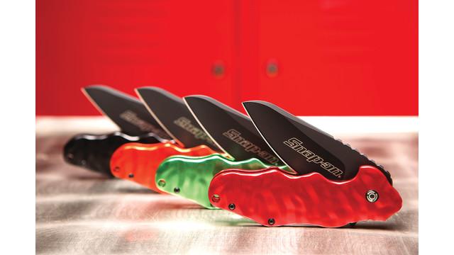Wrinkle Knife - Designed by Snap-On's Ken Onion