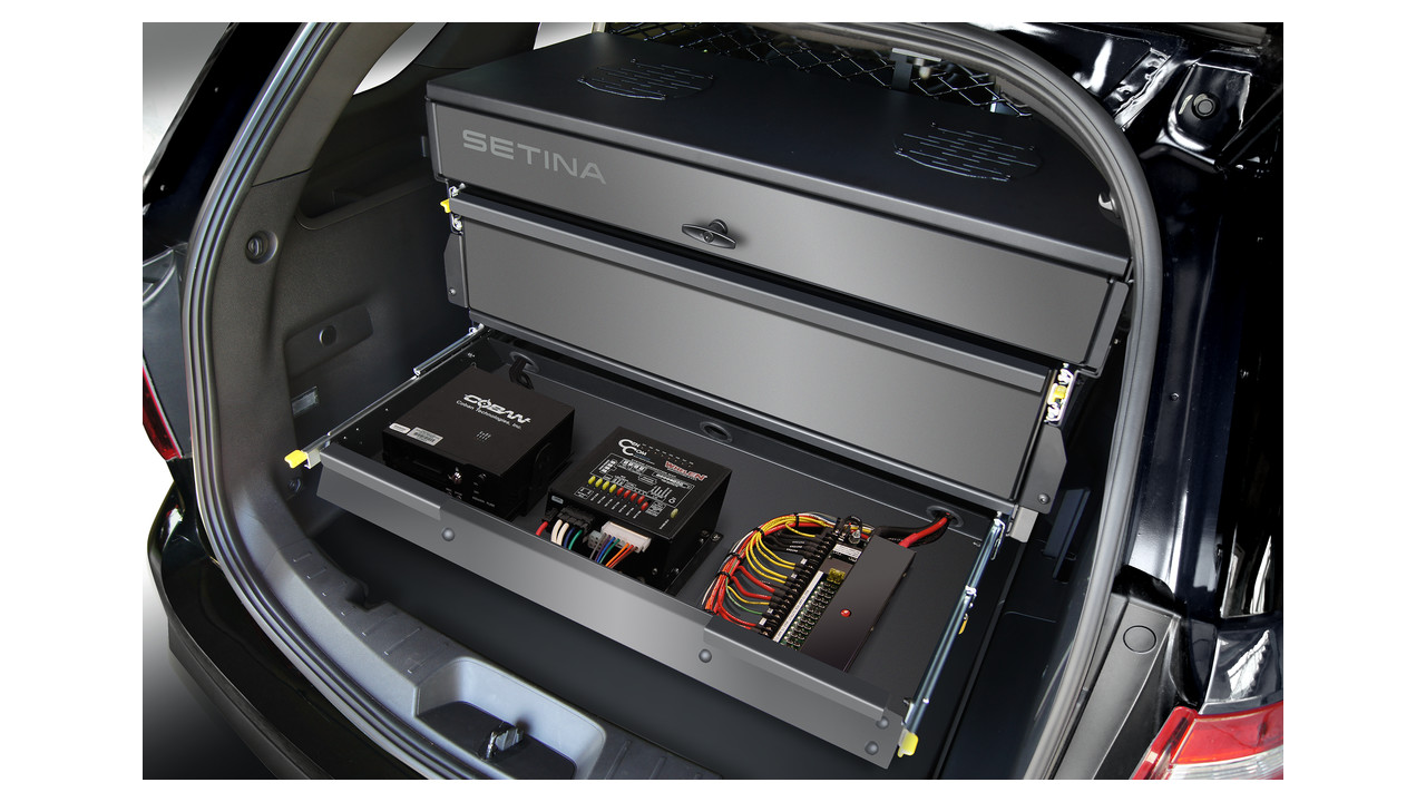 Police Vehicle Storage And Organizers Fleet Safety | Autos Post