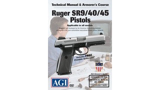 American Gunsmithing Institute (AGI) Announces New Technical Manual & Armorer's Course on the Ruger SR9 / 40 / 45 Pistols