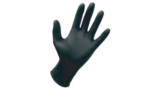 SAS Safety Black Nitrile Raven Gloves
