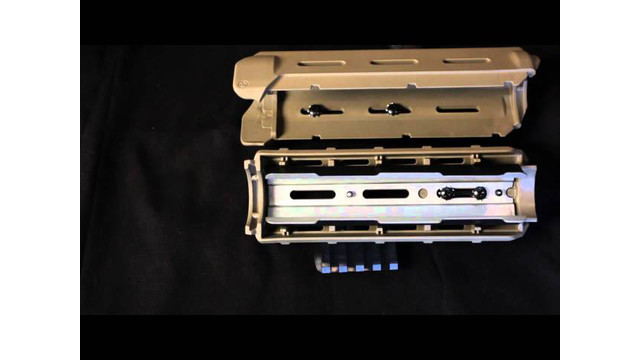 A*B ARMS LTF Picatinny Rails and Hand Guard