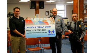 Village of Sabina Police Department Receives Safety Equipment Grant