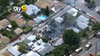 Three LAPD Officers Hurt in House Fire