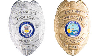 5.11 Tactical Launches Exclusive ChromaFlex Badges for Law Enforcement Apparel