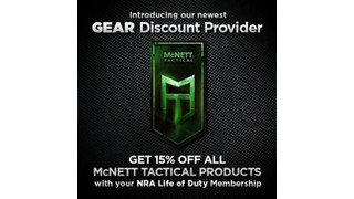 McNett Tactical Partners with NRA Life of Duty to Offer Gear Discounts to Military and Law Enforcement Professionals