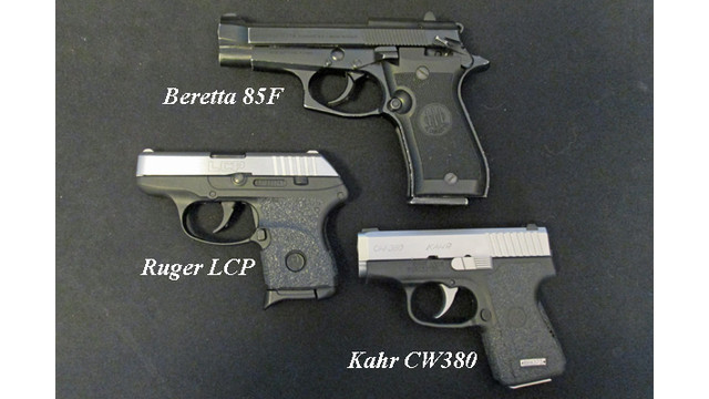 Is less more? .380ACP guns for concealed carry