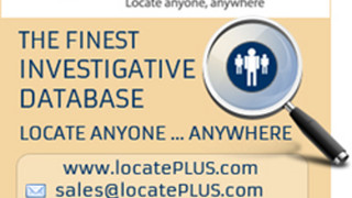 LocatePLUS Announces Industry Leading Investigative Data, Skip Tracing Tools, Multiple User Plans, and a Brand New All Inclusive Report for Licensed Investigators