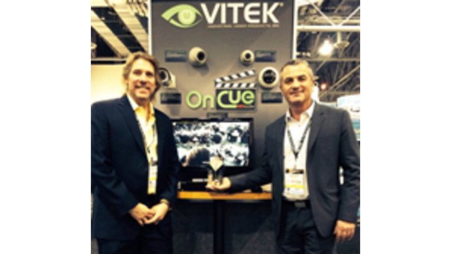 VITEK Industrial Video Products Named Best in Personnel, Loss Prevention and Asset Tracking Solutions at SIA's 2014 New Product Showcase at ISC West