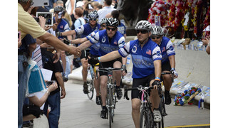Police Unity Tour Arrives at Officers Memorial in D.C.