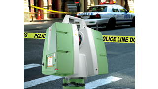 ScanStation PS15 3D Laser Crime Scene and Crash Scene Documentation