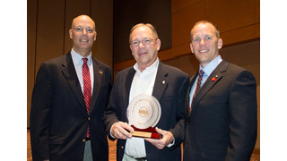 Frank Brownell Receives Golden Bullseye Pioneer Award from NRA Publications