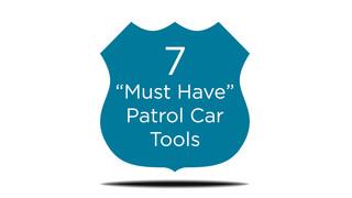 The Patrol Car Toolkit