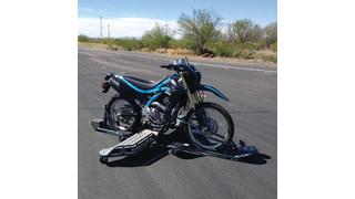 Skidbike Motorcycle Training Tool