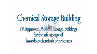 Chemical Storage Buildings |  FM Approved