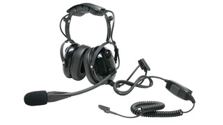 T26 Heavy Duty Noise Canceling Earmuff Headset (NRR 23dB)