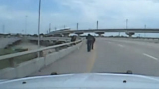 Dashcam Video: Dallas Officers Talk Man Down