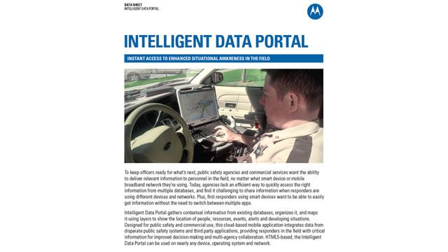 Intelligent Data Portal