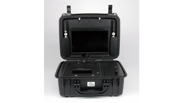 INTEGRATED MICROWAVE TECHNOLOGIES, LLC (IMT) NEW BRIEFCASE RECEIVER WALKS THE LINE AT POLICE SECURITY EXPO 2014