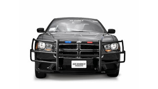 Light Ready / LR Push Bumper for the 2011 - 2014 Dodge Charger Pursuit