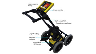 FINDAR Forensic Focused Ground Penetrating Radar (GPR) System