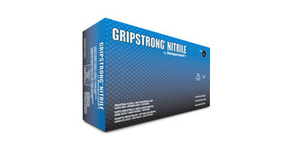 GripStrong Nitrile Gloves