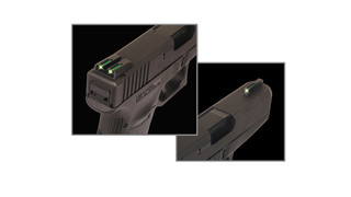 Tritium/Fiber-Optic (TFO) Sights