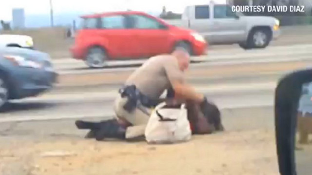 Video Shows CHP Officer Punching Woman