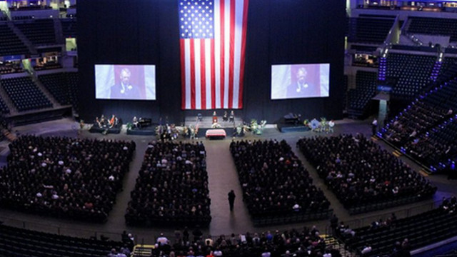 Photos: Thousands Mourn Indy Officer