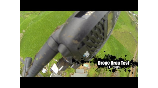Tait Tough: Drone Dropping a Radio from 100 meters