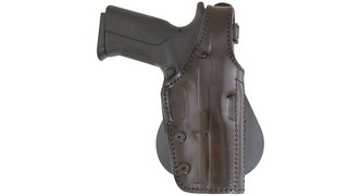 Lined Leather Paddle Holster, It.185