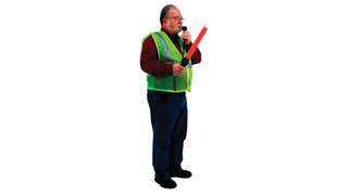 S606 Safety Wand Megaphone