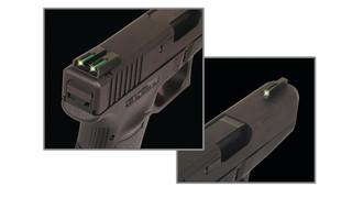 Tritium/Fiber-Optic (TFO) Sights