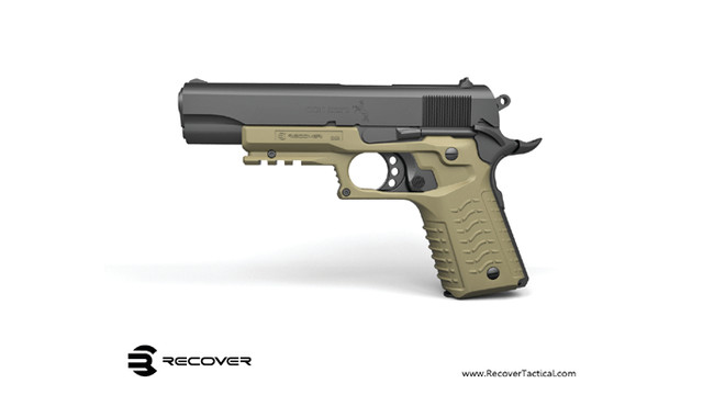 CC3 2-in-1 Grip and Rail Adaptor for 1911