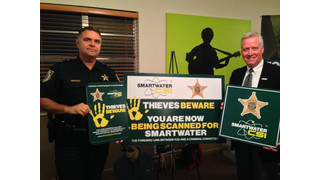 Palm Beach County Sheriff's Office Introduces SmartWater, Proven Technology to Reduce Theft